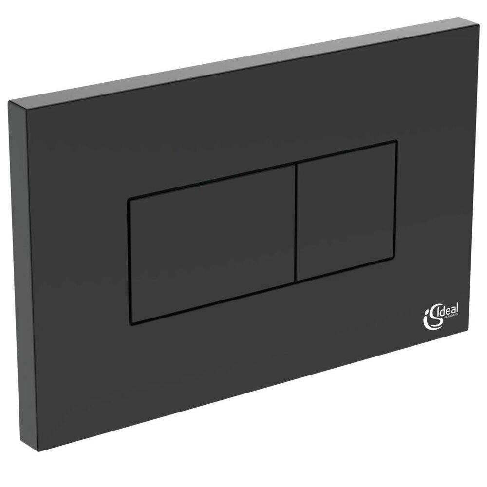 Clapeta de actionare dubla comanda Ideal Standard Solea P2 negru mat imagine neakaisa.ro