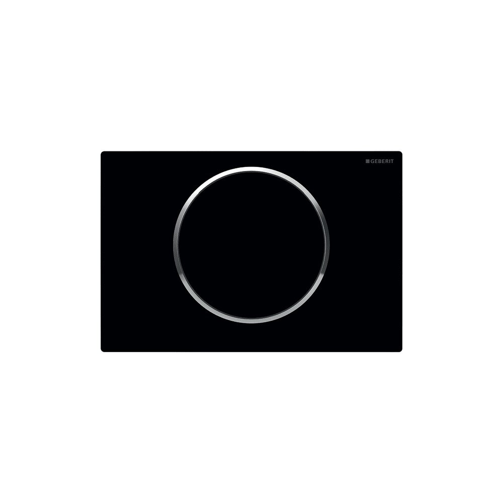 Clapeta de actionare Geberit Sigma 10 negru neakaisa.ro