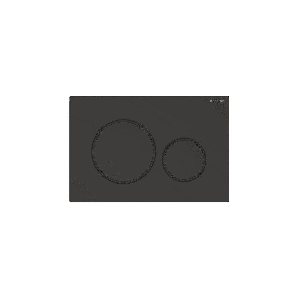 Clapeta de actionare Geberit Sigma 20 negru mat imagine neakaisa.ro