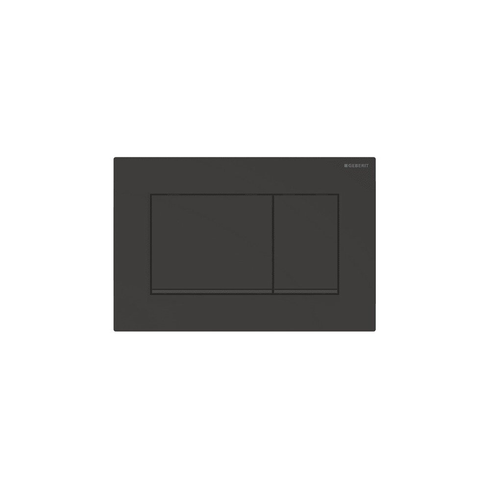 Clapeta de actionare Geberit Sigma 30 negru mat lacuit