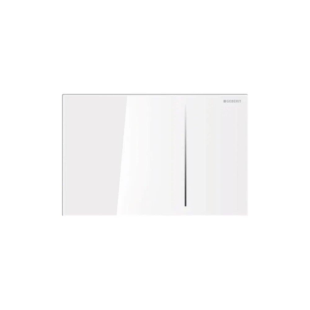 Clapeta de actionare Geberit Sigma 70 alb cu actionare hidraulica imagine