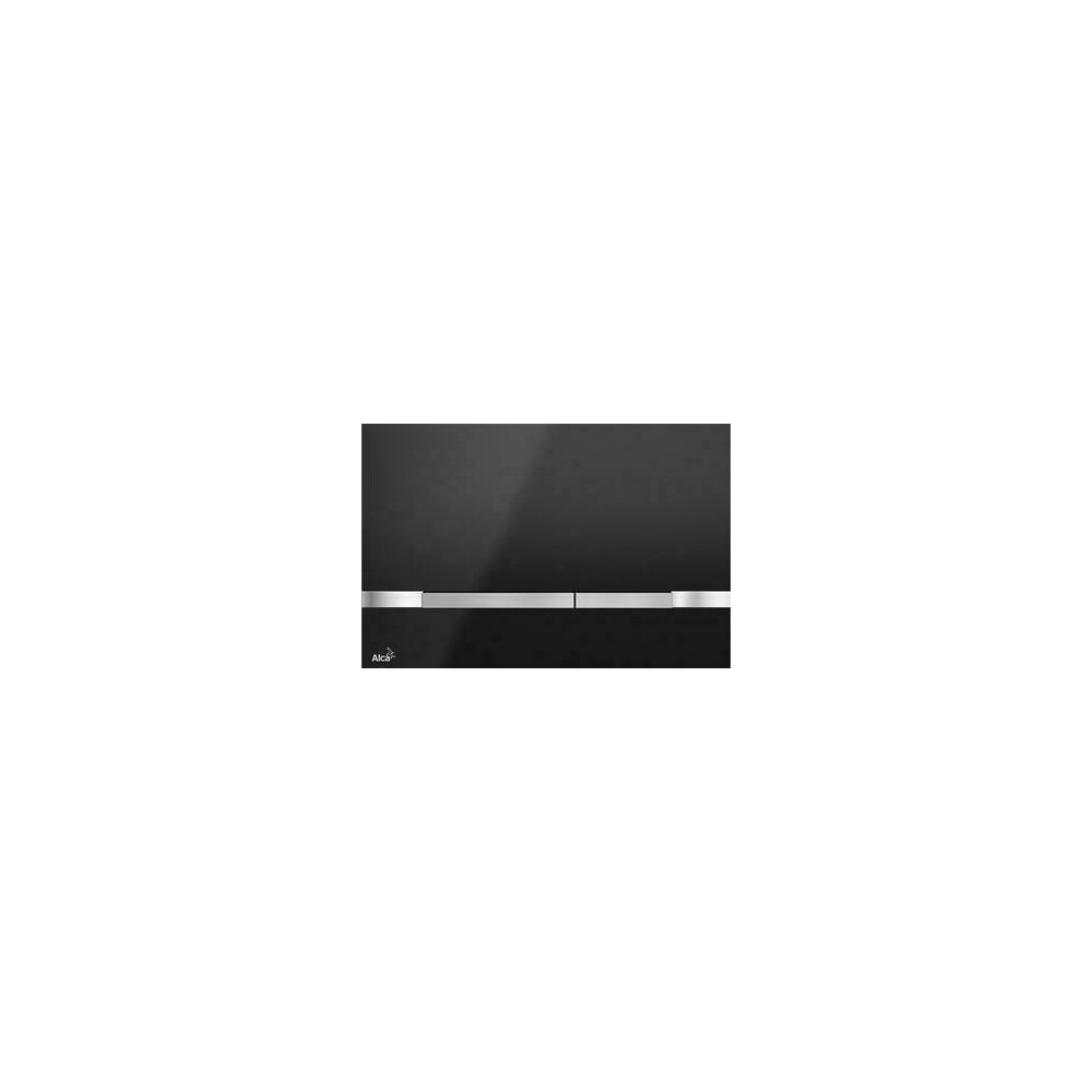 Clapeta de actionare Alcaplast Flat Color Stripe Black poza