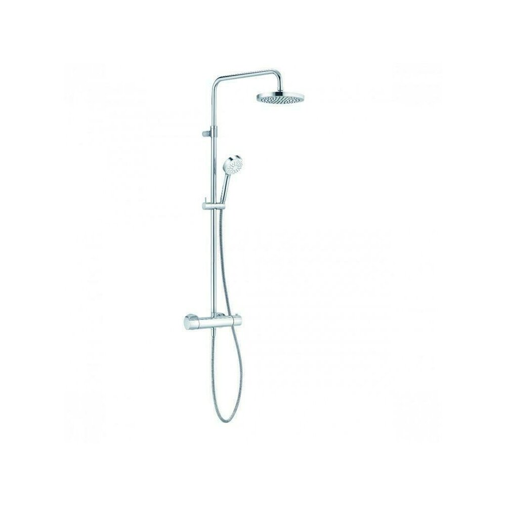 Coloana de dus cu termostat Kludi Logo THM Dual Shower System imagine