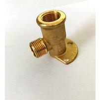 Conector cu talpa pentru baterie Geberit diametru 15 mm