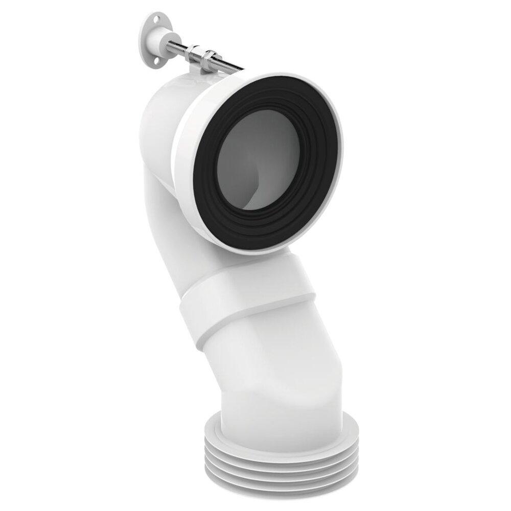 Conector scurgere verticala Ideal Standard pentru Vas WC pe pardoseala imagine