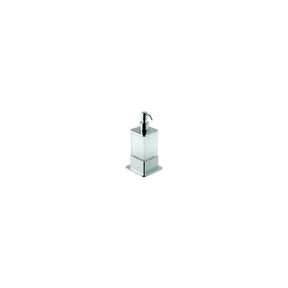 Dispenser sticla satinata sapun lichid Bemeta Plaza poza