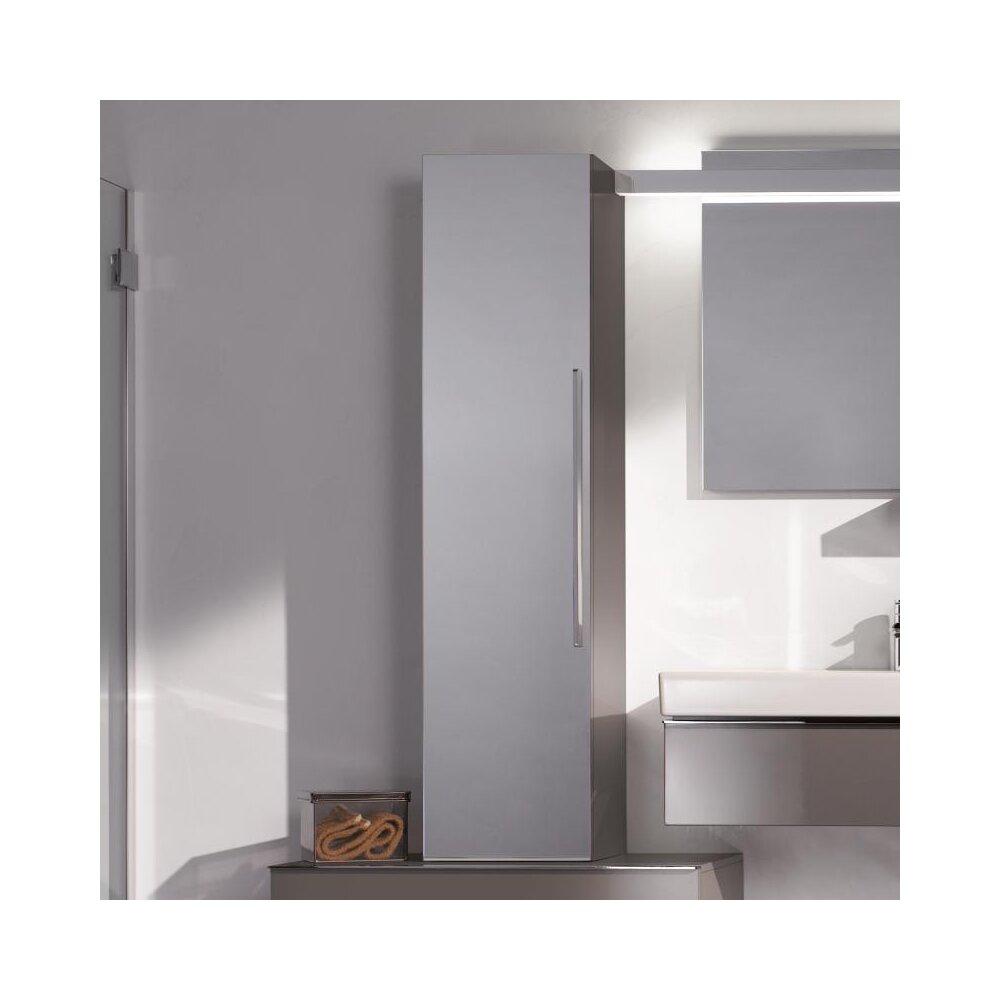 Dulap baie suspendat bej Geberit Icon 1 usa si 1 oglinda 36 cm neakaisa.ro