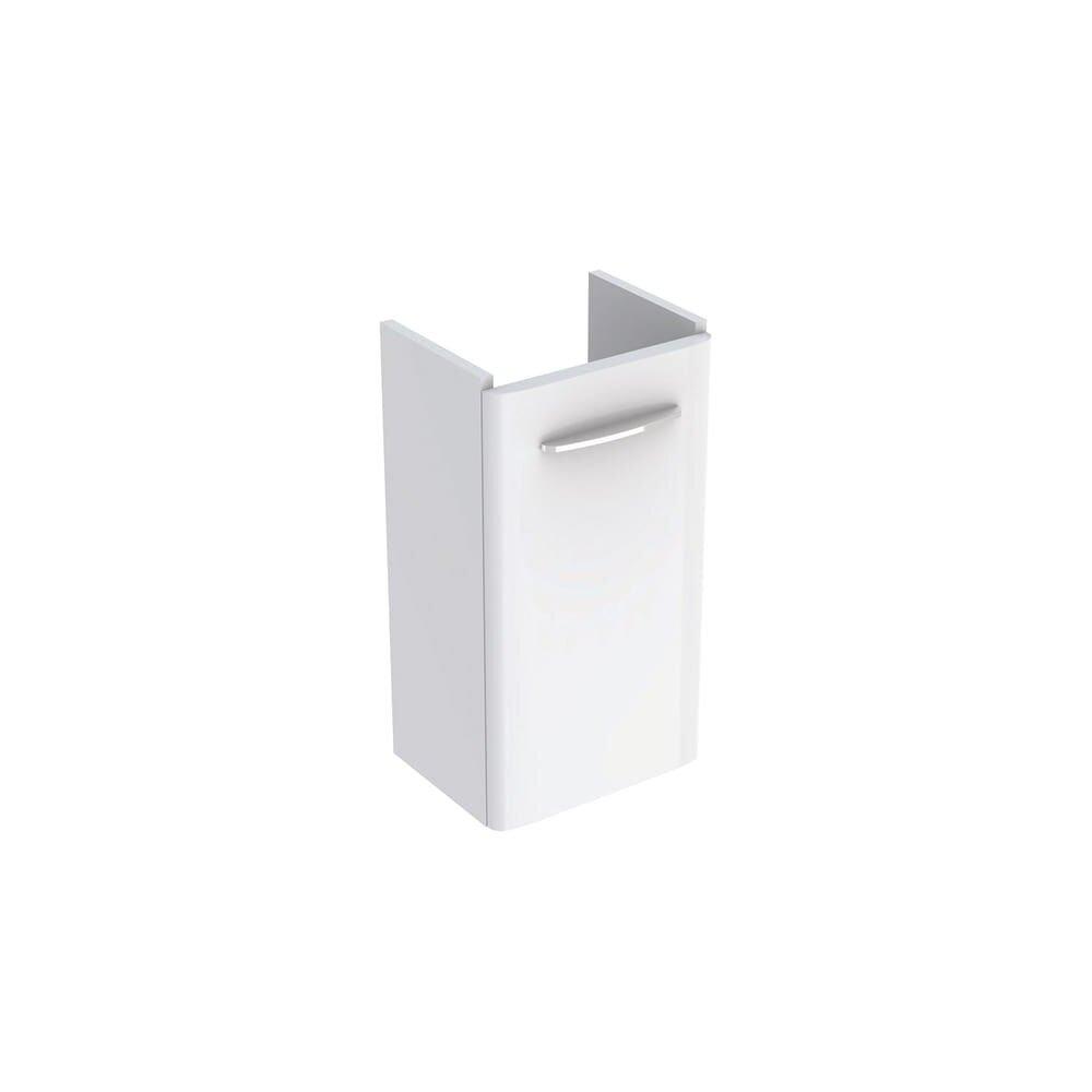 Dulap baza pentru lavoar suspendat Geberit Selnova Square alb 1 usa 36 cm imagine