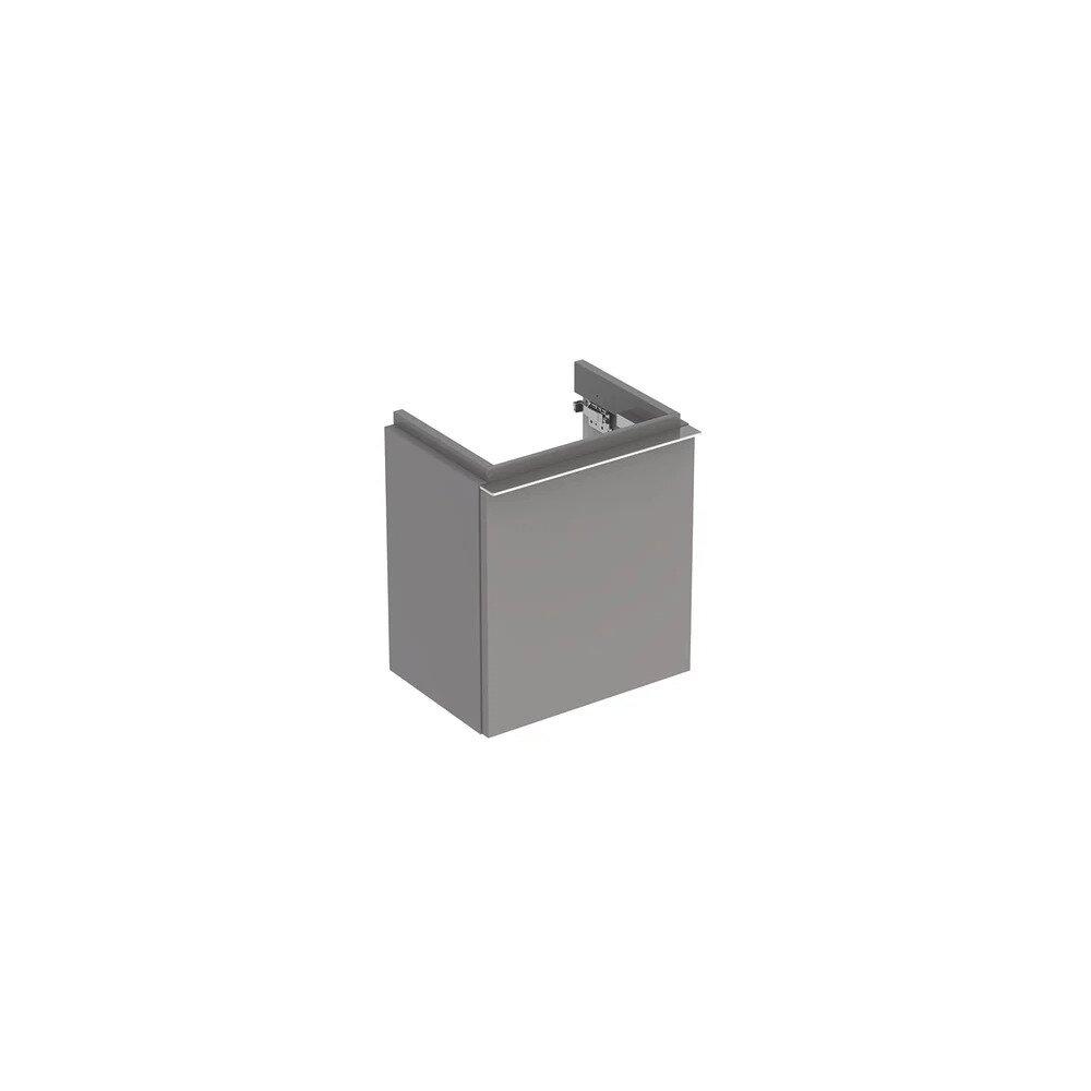 Dulap baza pentru lavoar suspendat gri Geberit Icon 1 usa opritor dreapta 37 cm poza