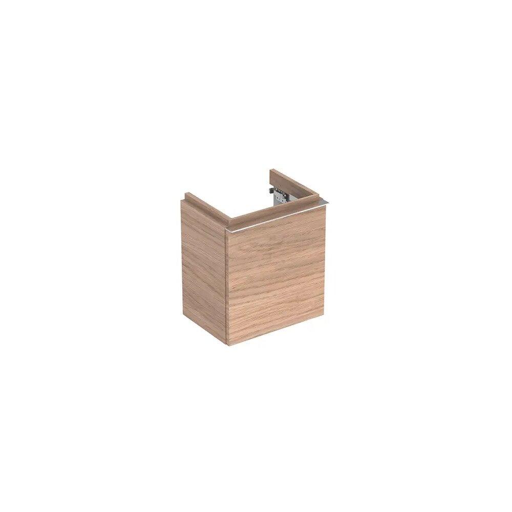 Dulap baza pentru lavoar suspendat stejar natural Geberit Icon 1 usa opritor dreapta 37 cm imagine