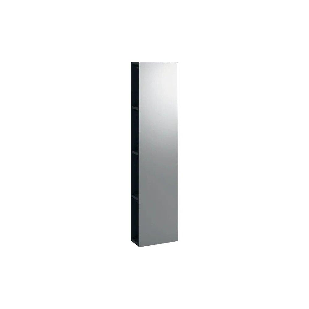 Dulap cu oglinda suspendat negru Geberit Icon 28 cm imagine neakaisa.ro