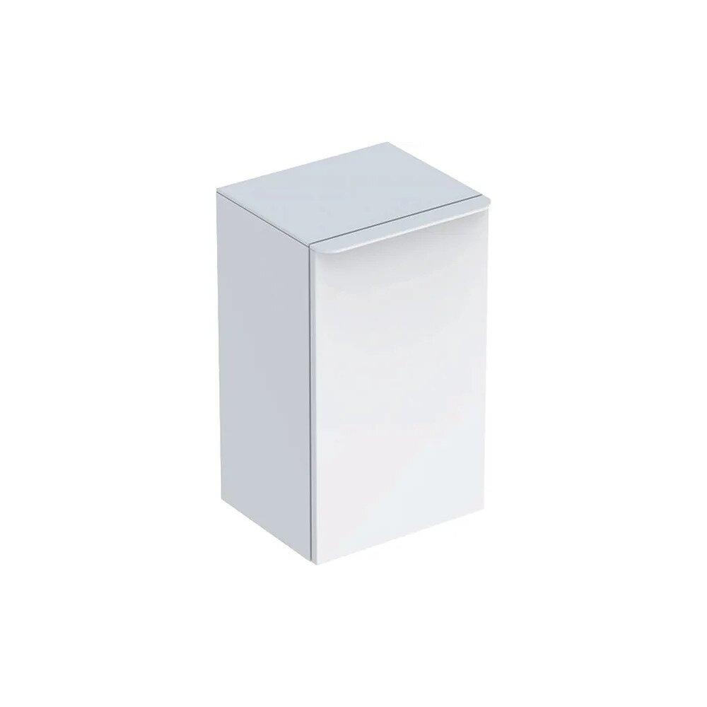 Dulap mediu suspendat Geberit Smyle Square alb 1 usa opritor dreapta 36 cm neakaisa.ro