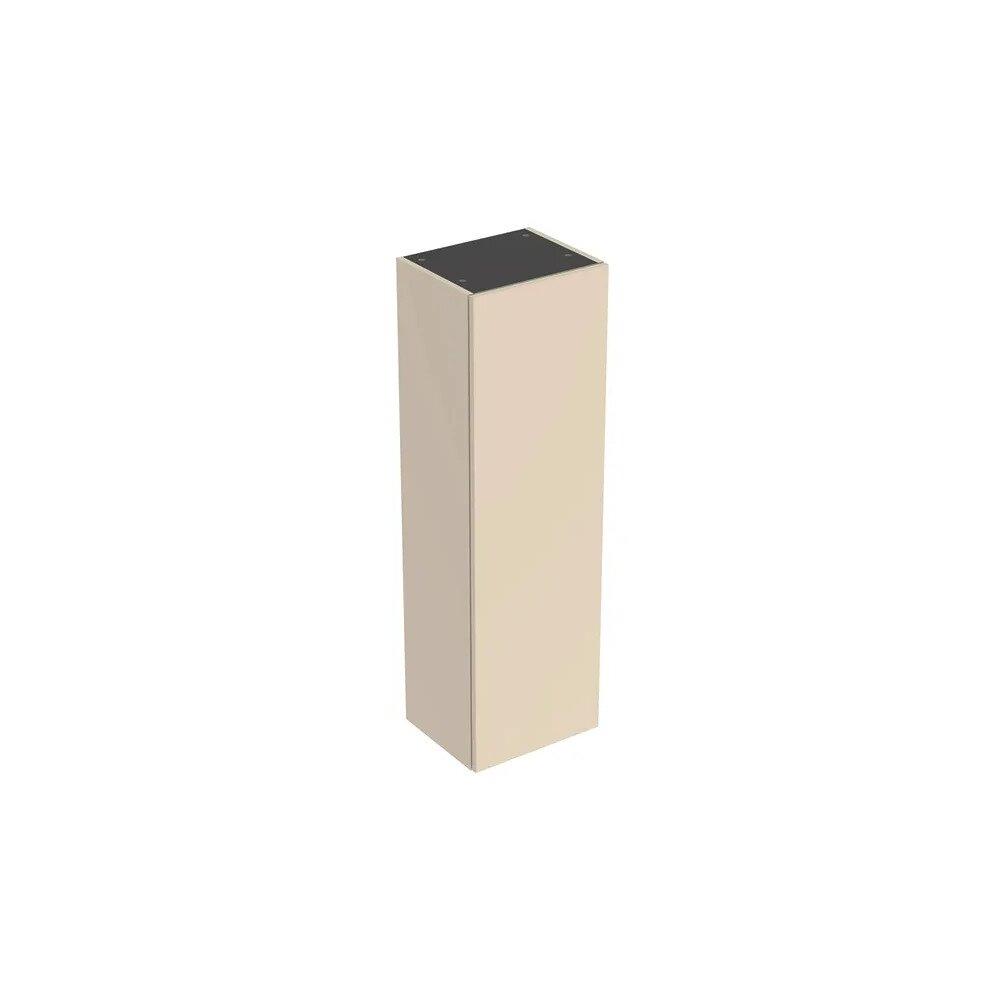 Dulap inalt suspendat Geberit Smyle Square gri nisip 1 usa 36 cm imagine neakaisa.ro