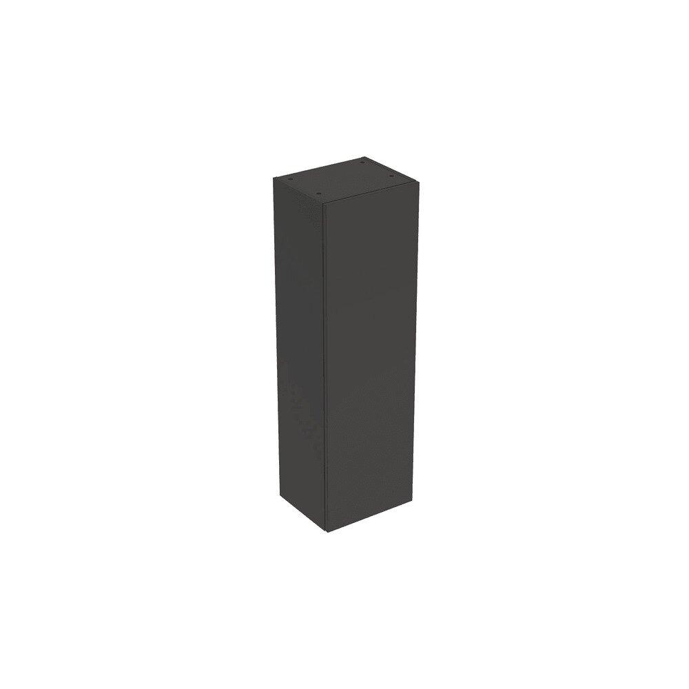 Dulap inalt suspendat Geberit Smyle Square negru 1 usa 36 cm