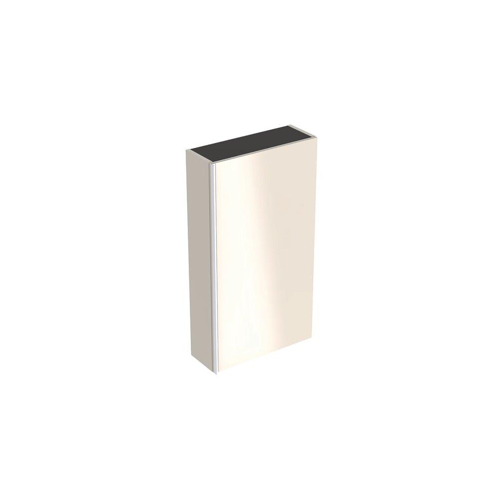 Dulap lateral suspendat gri nisip Geberit Acanto 1 usa 45 cm poza