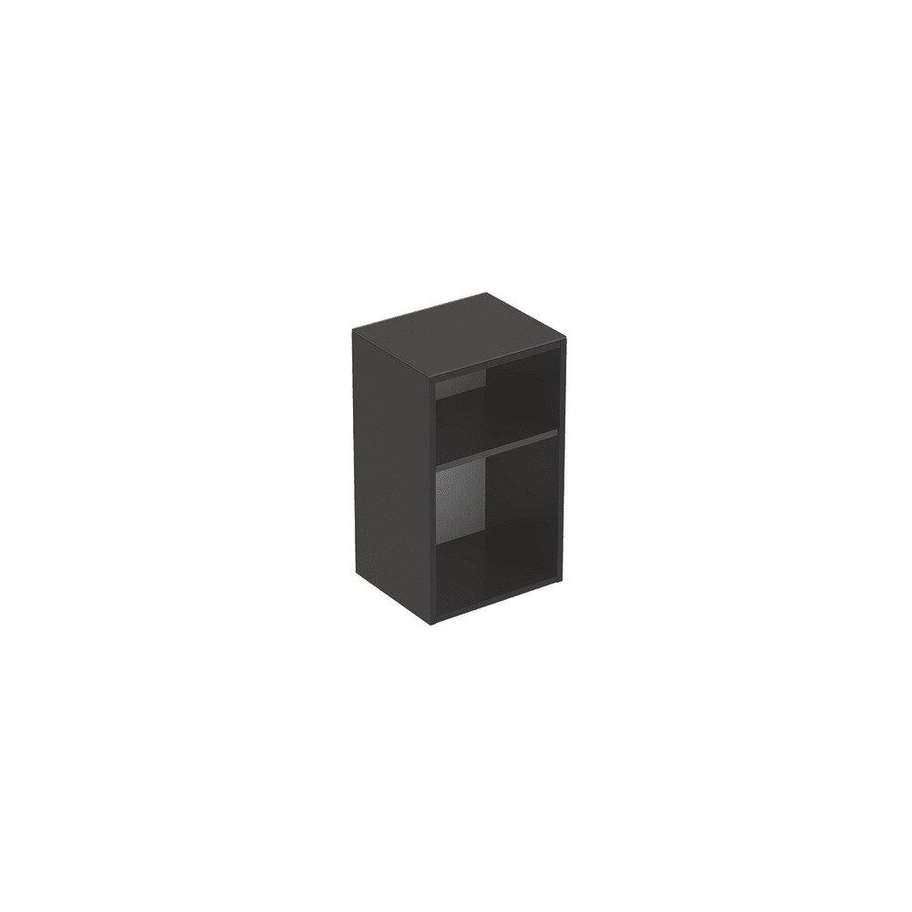 Dulap mic suspendat Geberit Smyle Square negru 36 cm imagine