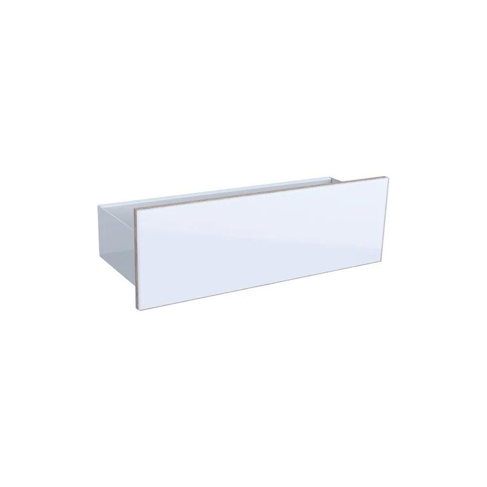 Etajera de perete alb Geberit Acanto 45 cm imagine neakaisa.ro