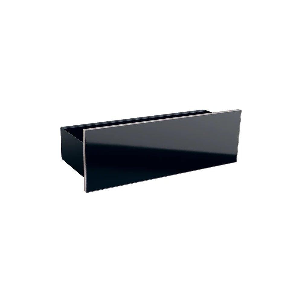 Etajera de perete negru Geberit Acanto 45 cm imagine neakaisa.ro
