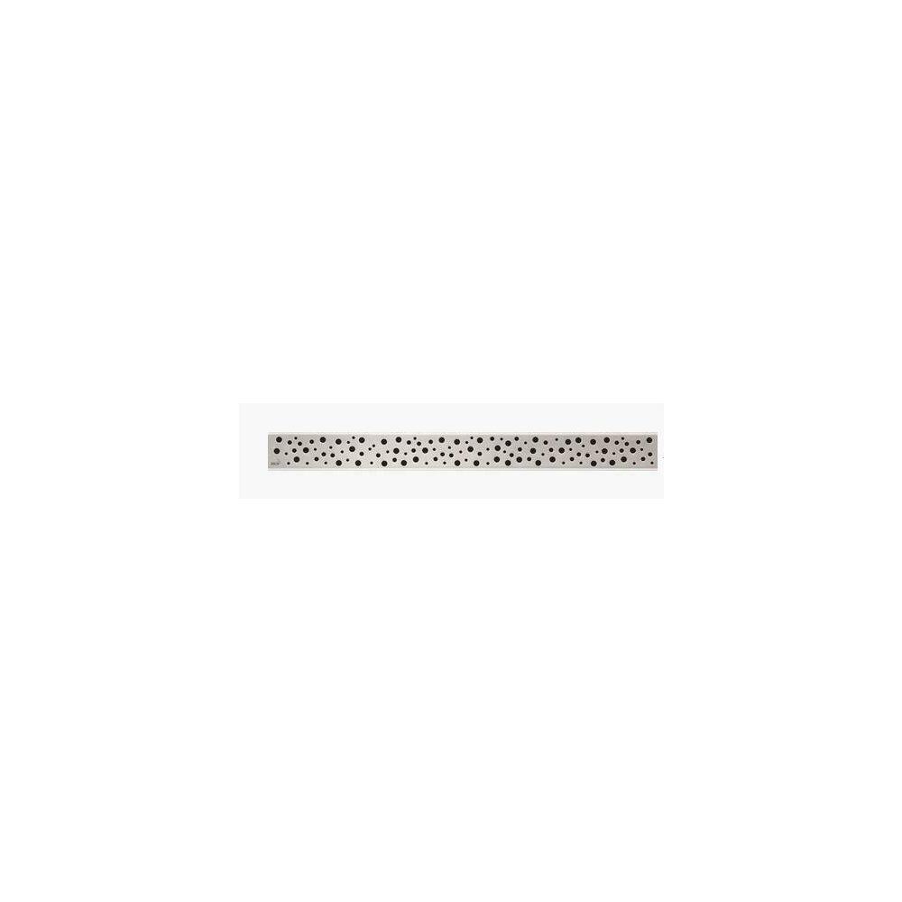 Capac pentru rigola de dus Alcaplast BUBLE 650L 65 cm otel lustruit imagine 2021