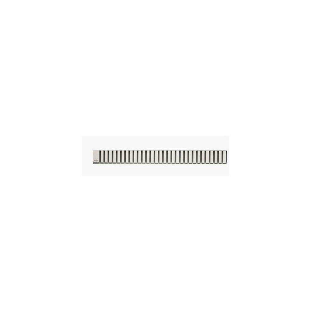 Capac pentru rigola de dus Alcaplast LINE 850L 85 cm otel mat