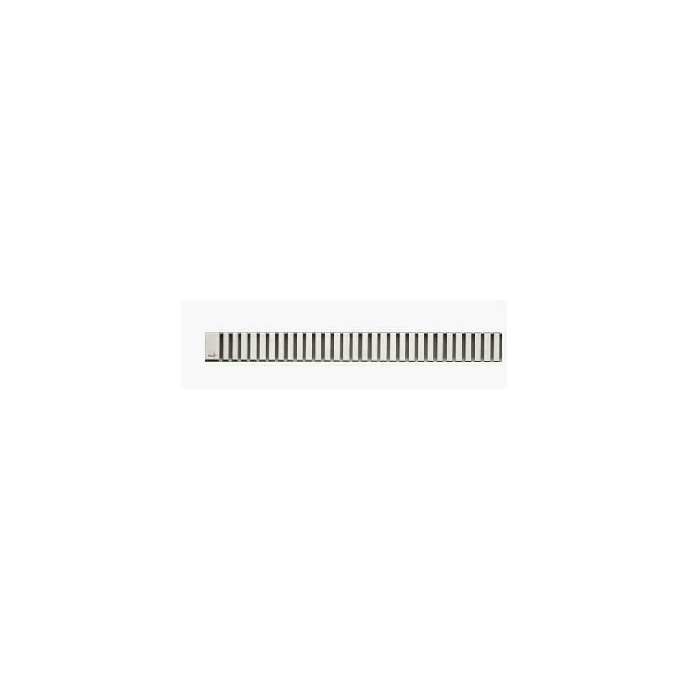 Capac pentru rigola de dus Alcaplast LINE 850L 85 cm otel mat poza