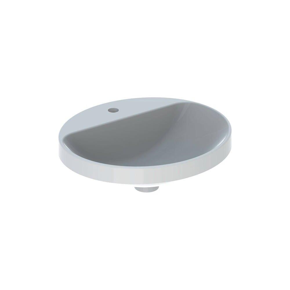 Lavoar incastrat Geberit Variform 50 cm cu orificiu baterie fara orificiu preaplin imagine