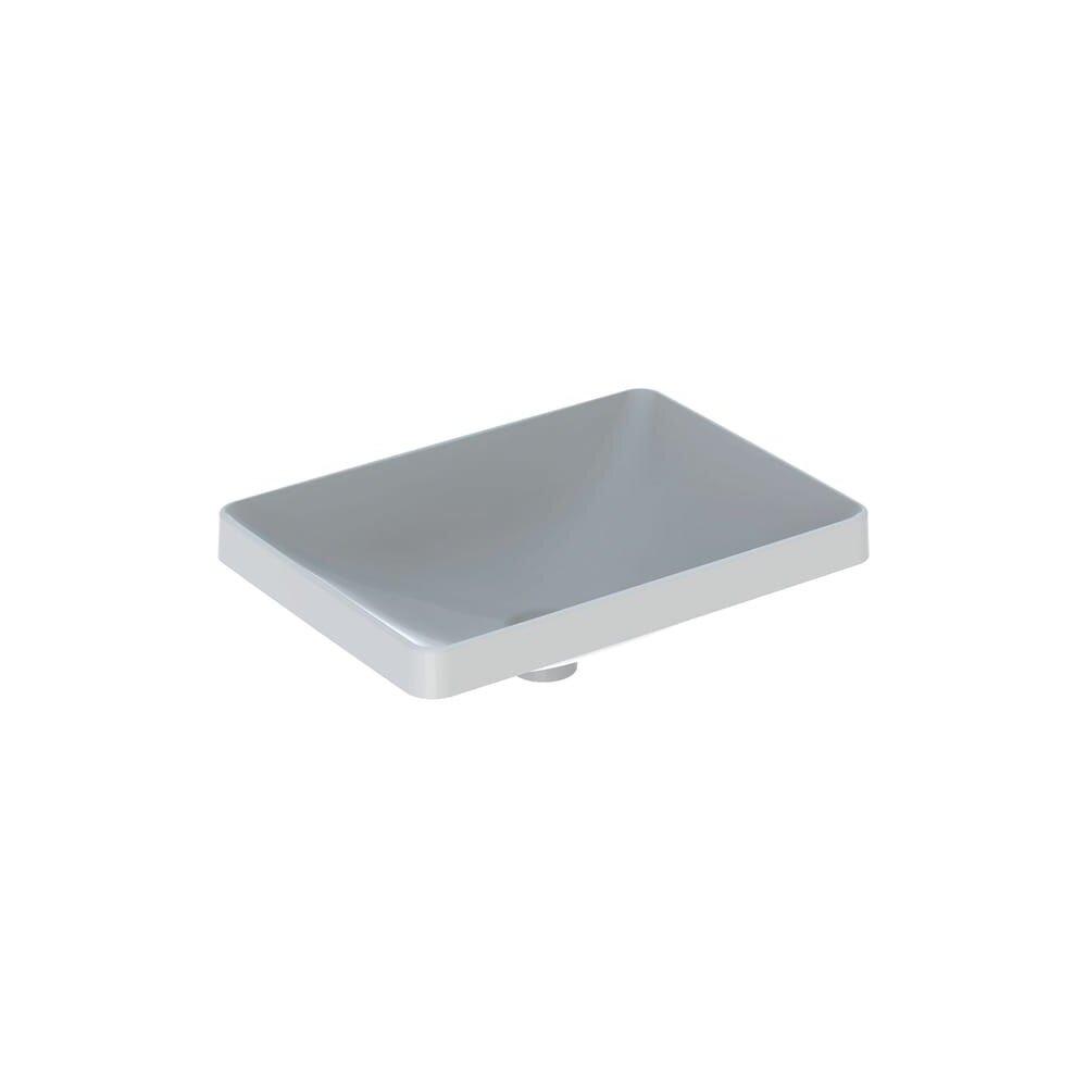 Lavoar incastrat Geberit Variform 55 cm fara orificiu baterie fara orificiu preaplin dreptunghiular imagine