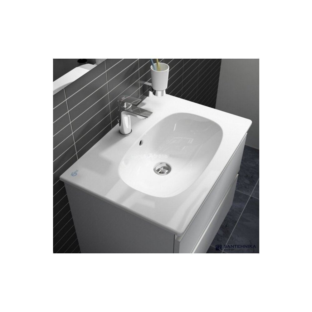 Lavoar pe mobilier Ideal Standard Tesi 62x45 cm imagine neakaisa.ro
