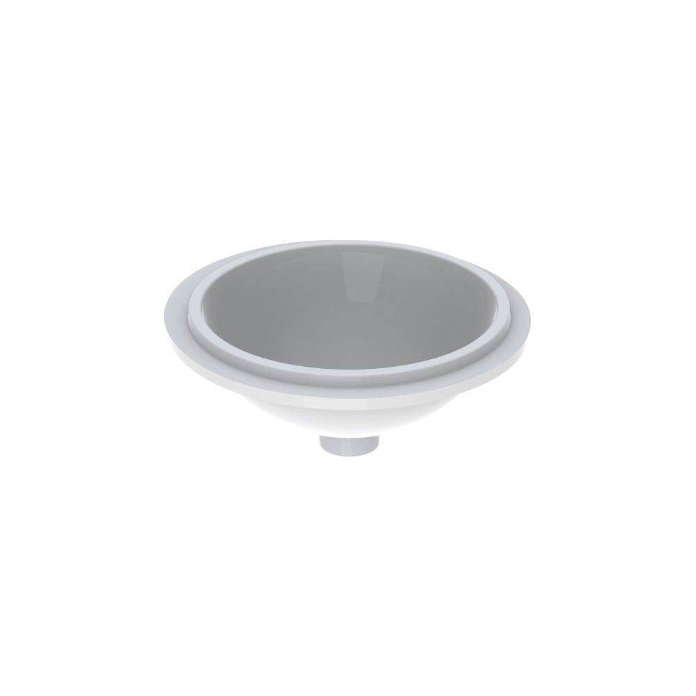 Lavoar sub blat Geberit Variform 39 cm fara orificiu baterie fara orificiu preaplin