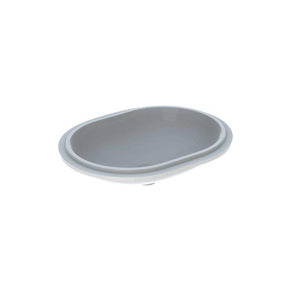 Lavoar sub blat Geberit Variform 61 cm fara orificiu baterie fara orificiu preaplin imagine