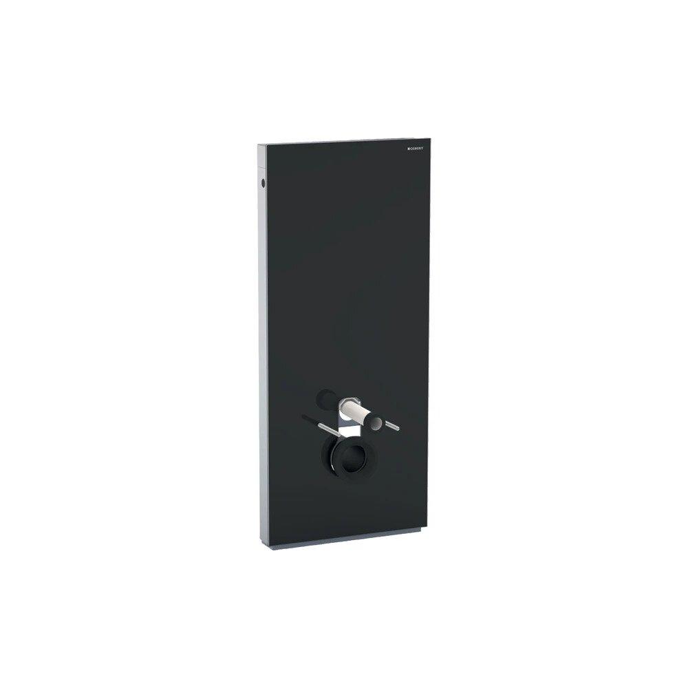 Modul Geberit Monolith pentru wc suspendat negru 114 cm imagine neakaisa.ro