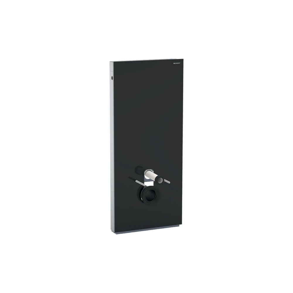 Modul Geberit Monolith pentru wc suspendat negru 114 cm imagine