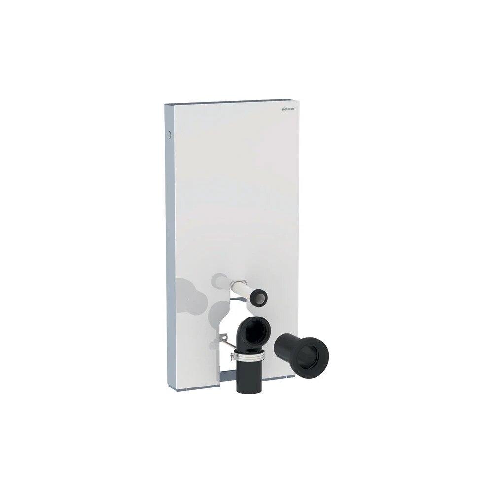 Modul Geberit Monolith Plus pentru wc pe pardoseala alb 101 cm imagine