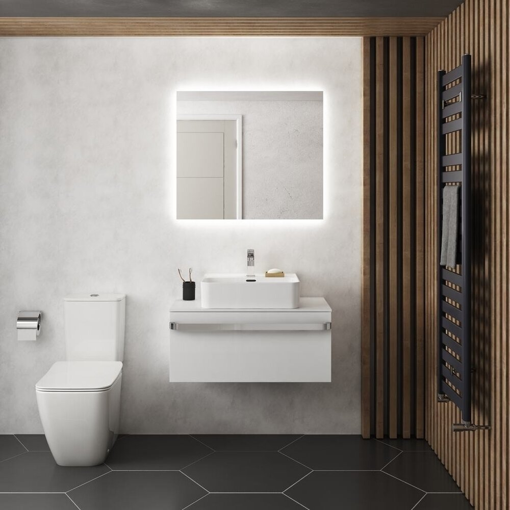 Oglinda cu iluminare si dezaburire Ideal Standard Mirror&Light Ambient 60x70 cm imagine neakaisa.ro