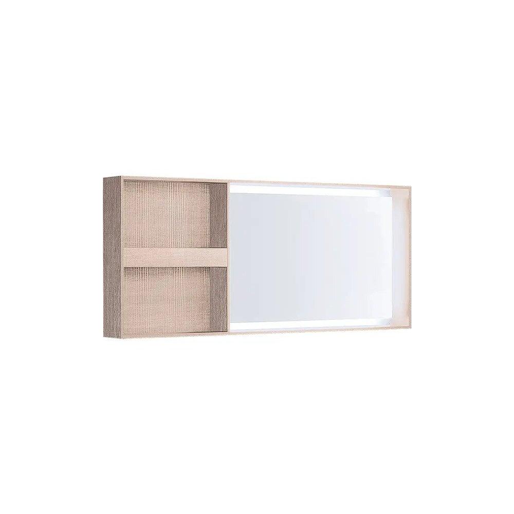 Oglinda cu iluminare LED Geberit Citterio bej 134 cm imagine neakaisa.ro