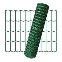 Plasa de gard zincata PVC Europlast 2x25m 2.2x100x50mm