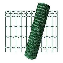 Plasa de gard zincata PVC Hortaplast 1.5x25m 2.6x100x50mm