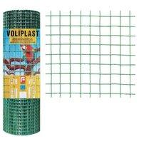 Plasa de gard zincata PVC Voliplast 1x10m 1.2x13x13mm