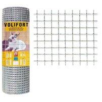Plasa de gard zincata Volifort 1x10m 0.9x16x16mm
