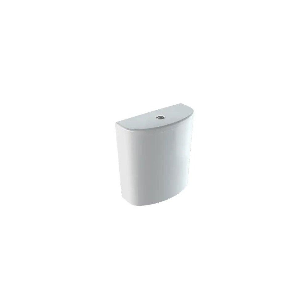 Rezervor asezat pe vas Geberit Selnova ceramica cu alimentare inferioara imagine