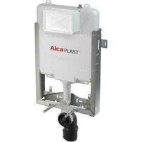 Rezervor WC ingropat Alcaplast Renovmodul Slim pentru montare in zidarie inaltime de instalare 1 m
