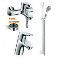 Set baterii Hansgrohe Focus E2 cada Confort 3in1