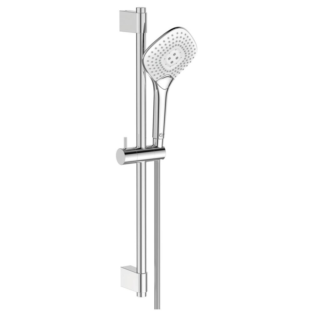 Set de dus Ideal Standard IdealRain EvoJet Diamond cu para dus 134 mm, bara 600 mm imagine