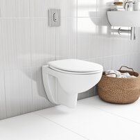 Set vas wc suspendat si capac softclose Grohe Bau Ceramic Rimless