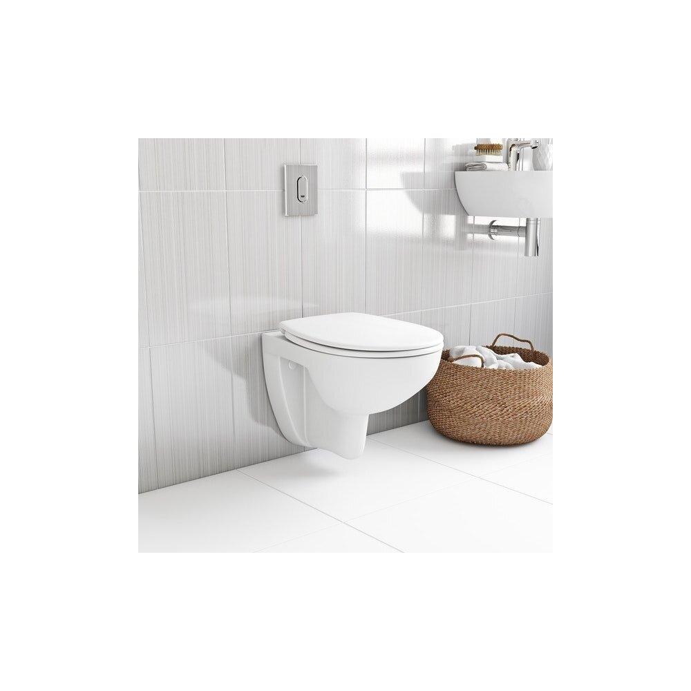 Set vas wc suspendat si capac softclose Grohe Bau Ceramic Rimless neakaisa.ro