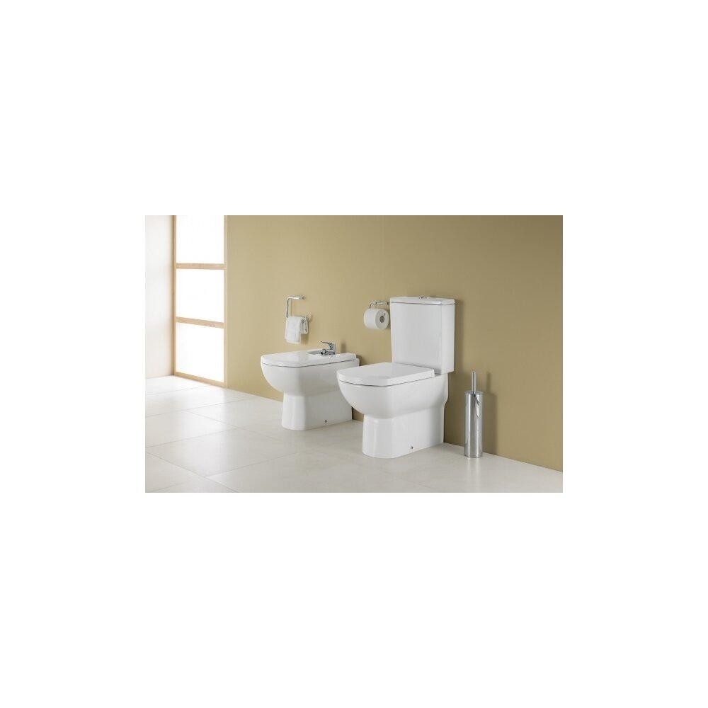 Set complet vas wc pe pardoseala rezervor asezat si capac softclose Gala Smart BTW imagine