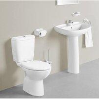Set vas wc pe pardoseala Gala Arco cu rezervor si capac