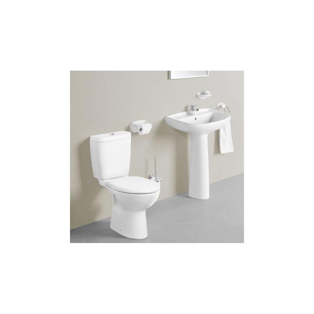 Set vas wc pe pardoseala Gala Arco cu rezervor si capac imagine