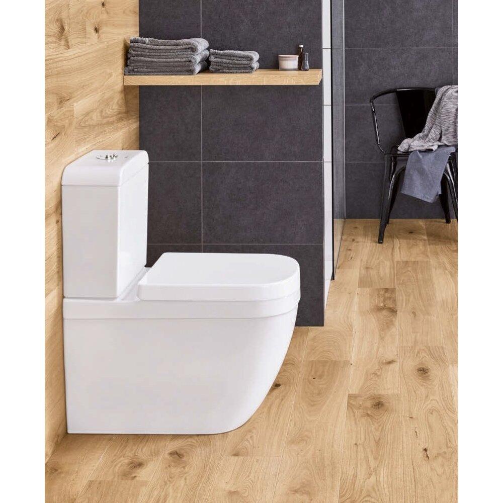 Set vas wc pe pardoseala si rezervor Grohe Euro Ceramic Rimless alimentare inferioara imagine