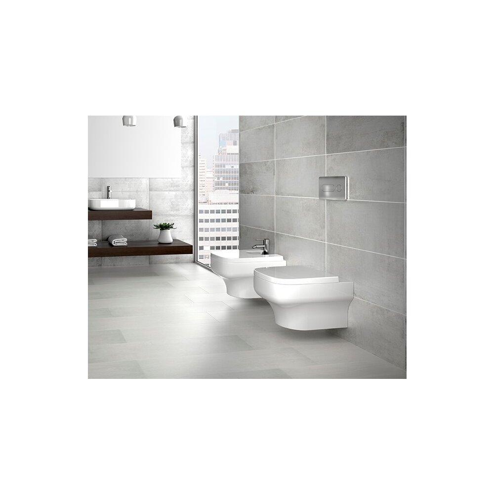 Set vas wc suspendat si capac softclose Gala Mid Rimless imagine